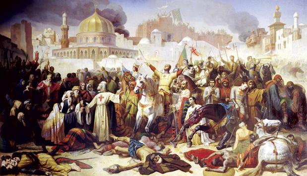 De strijd om het Heilige Land