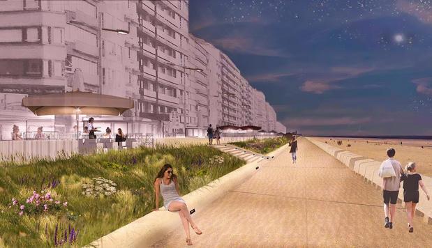 Vlaamse overheid keurt omgevingsvergunning goed voor vernieuwing zeedijk Westende