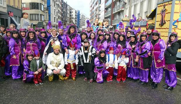 Meer dan duizend deelnemers in grote Oostendse carnavalsstoet