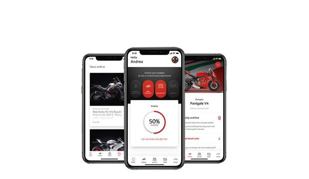 Le monde Ducati en main