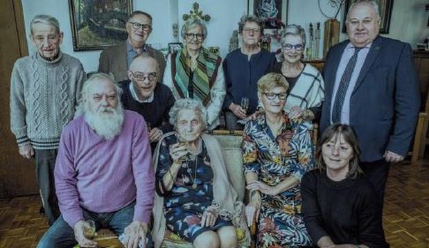 Oudste inwoonster van Roeselare gestorven op 103-jarige leeftijd