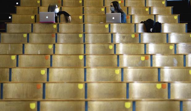 Studenten in coronatijd