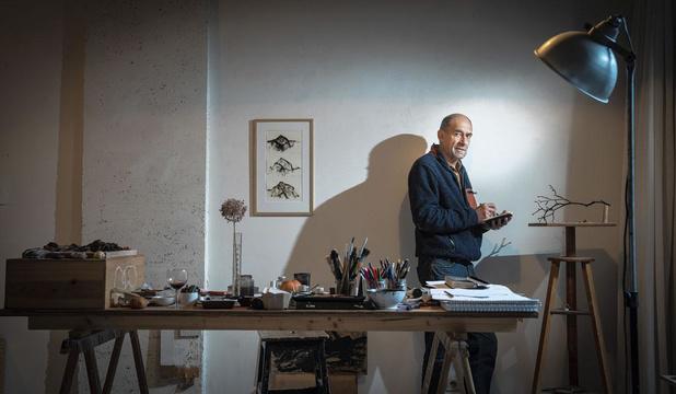 """Jean-François Pirson: """"J'ai tenté de développer une vie où la liberté, c'est de retrouver du temps et d'avoir un agenda avec des pages blanches"""""""