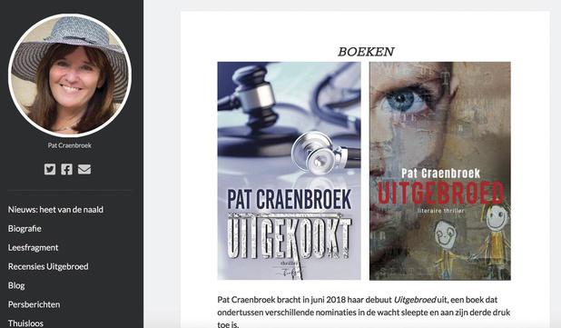 Twee thrillers van Pat Craenbroek