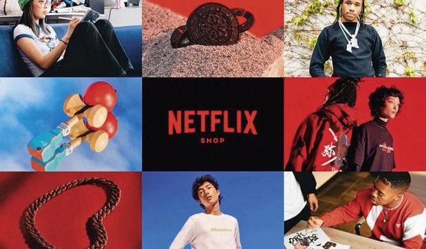 Netflix dans les produits dérivés