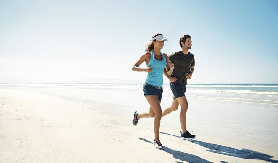 Sporten in de zon? Vergeet je bescherming niet, ook niet in de schaduw
