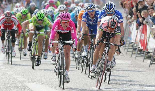 Hoe Mark Cavendish in de Scheldeprijs zijn eerste profzege behaalde