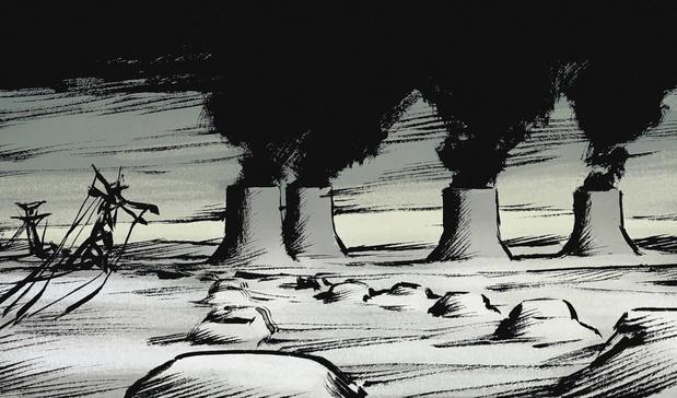"""Rochette: """"Je crois vraiment qu'on va tous, lentement mais sûrement, vers une destruction globale"""""""