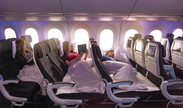 Mieux dormir en classe éco: un kit belge pour améliorer le confort des vols longs-courriers