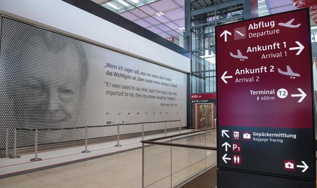 Les ratés de l'aéroport de Berlin dont l'inauguration se déroule avec neuf ans de retard