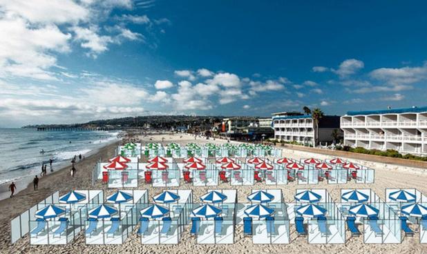 Des séparations en plexi sur les plages cet été ?