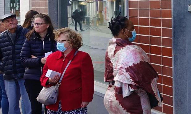 Mondmasker dragen in Kortrijk centrum niet meer verplicht vanaf 1 oktober