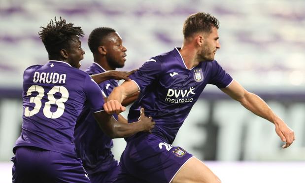Anderlecht sleept punt uit de brand tegen Antwerp