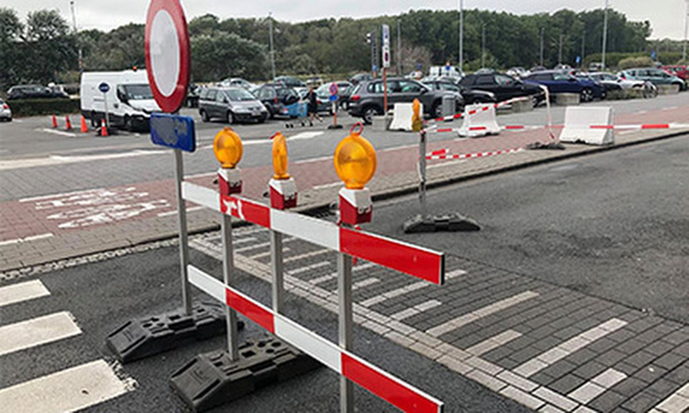 Kapelstraat onderbroken voor aanleg asfaltlaag
