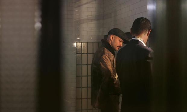 Expo: gluren achter de muren van het mannentoilet