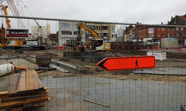 Doorgang Zandstraat aan de stationswerf weer vrij, werken liggen stil vanaf 20 juli