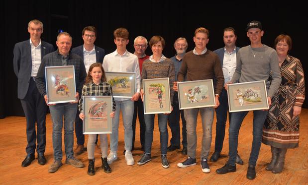 Oostrozebeke maakt sportlaureaten 2019 bekend