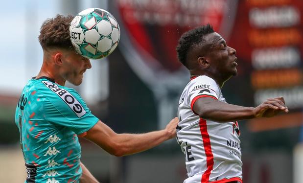 Essevee met 1-2 kopje onder in oefenduel tegen Charleroi