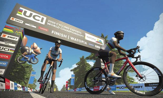Qui sera le premier champion du monde virtuel de cyclisme?