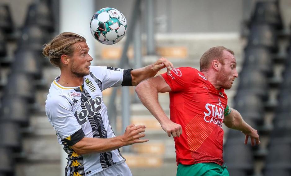 IN BEELD KV Oostende onderuit bij Sporting Charleroi