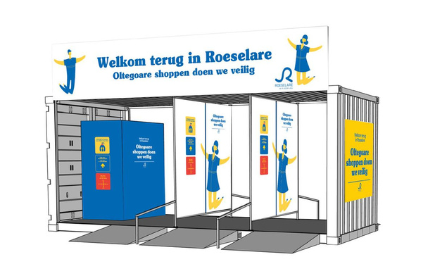Tal van maatregelen voor veilig shoppen in Roeselaarse stadskern