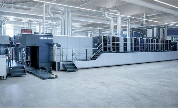 Koenig & Bauer célèbre une Drupa virtuelle avec un nouveau produit phare