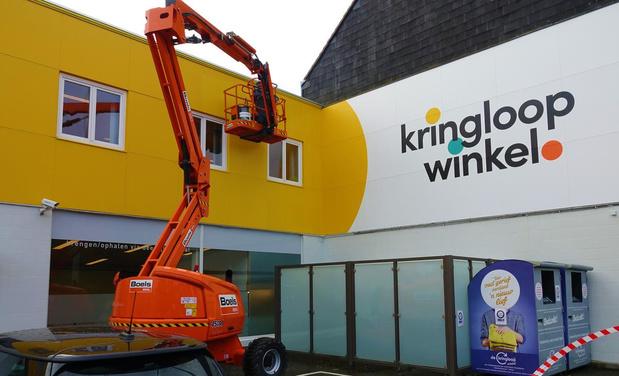 """Kringloopwinkel pakt uit met nieuw logo: """"Willen tonen dat we meer doen dan recycleren"""""""