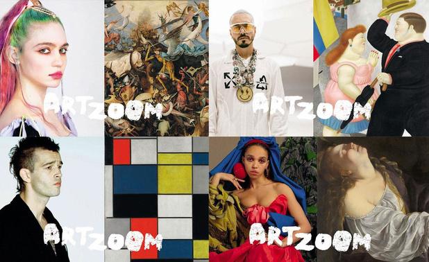 1. Art Zoom