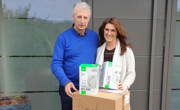 Lokaal bestuur Koksijde schenkt FFP3-maskers aan AZ West Veurne