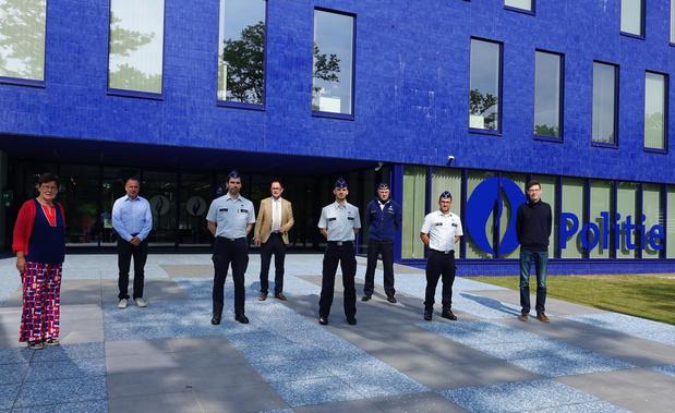 Politiezone Vlas verwelkomt vier nieuwe collega's