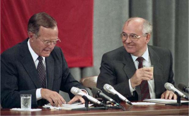 Melania en de vier oud-presidenten