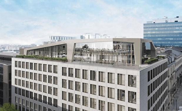 Vers un afflux de bureaux neufs sur le marché bruxellois