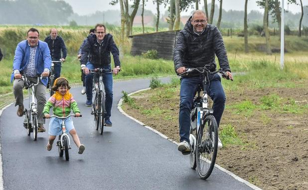 Provincie opent in Wervik een fietspad dat doodloopt