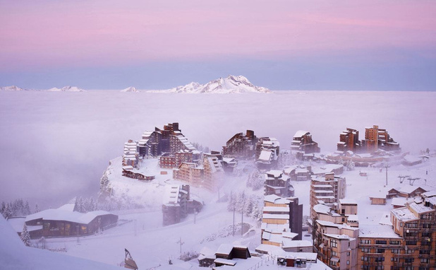 Avoriaz: Sous la neige, le bois