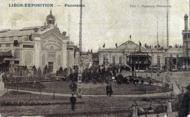 Le 27 avril 1905, Liège accueille l'Expo universelle
