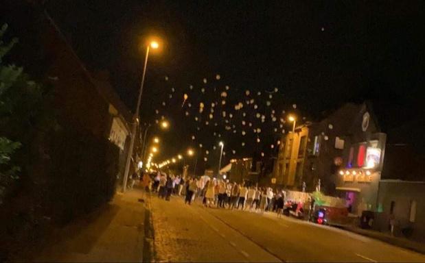 Meer dan 100 mensen dansen 'Jerusalema' in Ingelmunster