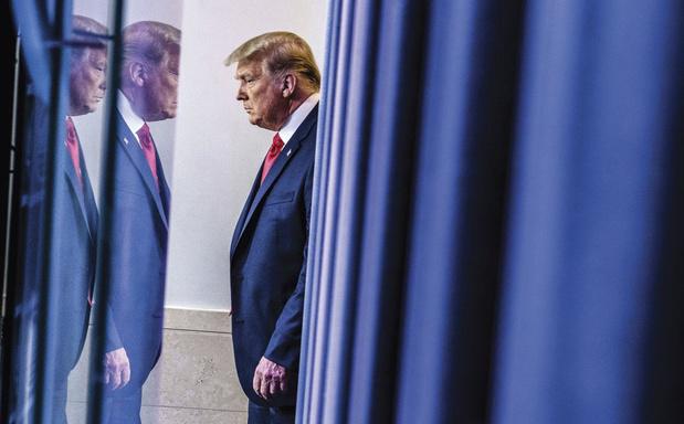 Donald Trump na nieuwe nederlaag: 'Het Hooggerechtshof heeft ons echt in de steek gelaten'