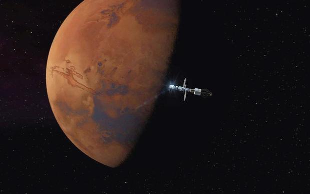La première mission spatiale arabe vers Mars a décollé du Japon
