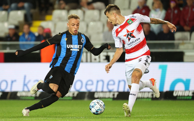 Club en Cercle spelen 1-1 gelijk in Brugse stadsderby