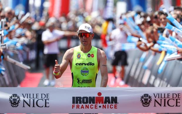 Ironman van Nice valt weg, balen voor Frederik Van Lierde