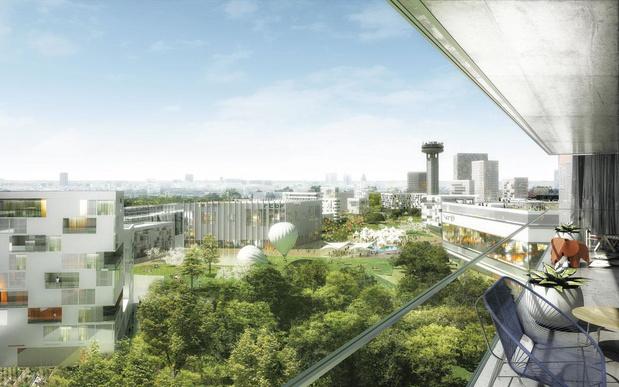 """Reyers 2030: la """"cité des médias"""" s'étendra sur 20 hectares bruxellois"""
