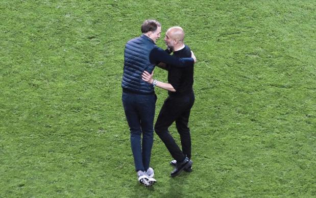 Chelsea-Manchester City: l'élève Tuchel contre le maître Guardiola