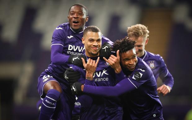 Anderlecht houdt punten thuis tegen Oostende