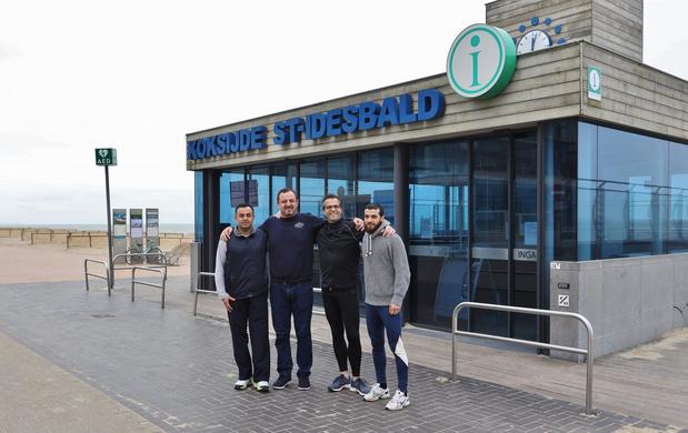 Lieven Pieters is loopcoach voor Koksijdse asielzoekers