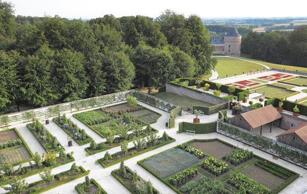 De Kasteelparken van de Brusselse adel