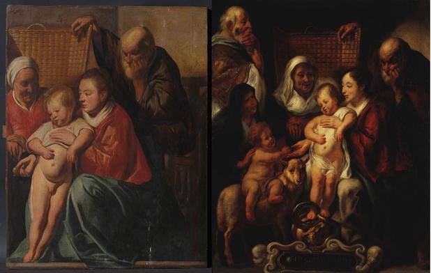 Werk van Jacob Jordaens ontdekt in Sint-Gillis