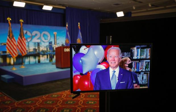 Joe Biden officieel genomineerd als presidentskandidaat
