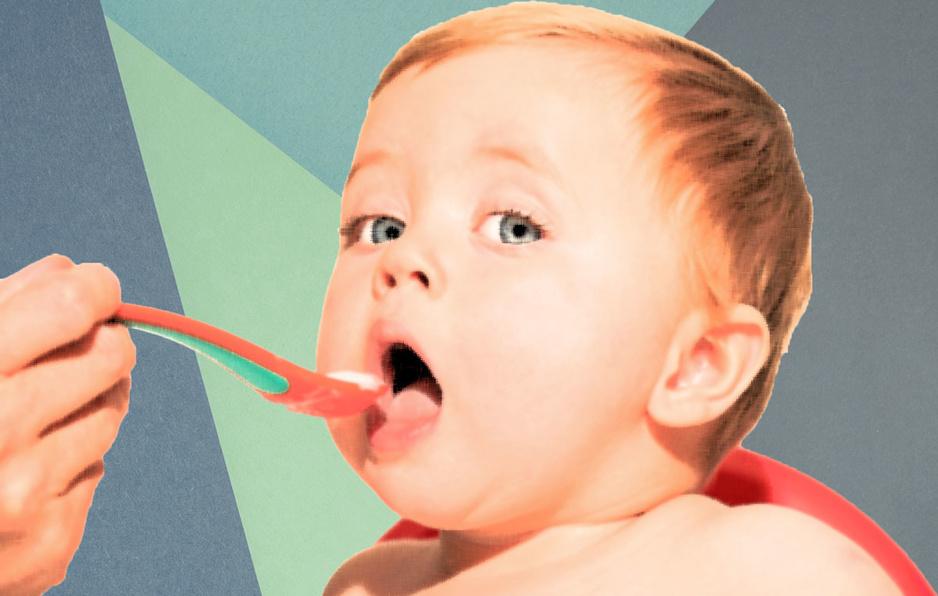 'Potje geven zonder proeven is absurd': waarom lekkere babyvoeding wel belangrijk is