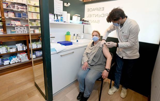 La vaccination Covid bientôt proposée dans des pharmacies bruxelloises