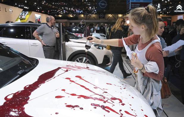 Le Brussels Motor Show, une réussite malgré la professionnalisation des manifestants d'Extinction/Rebellion